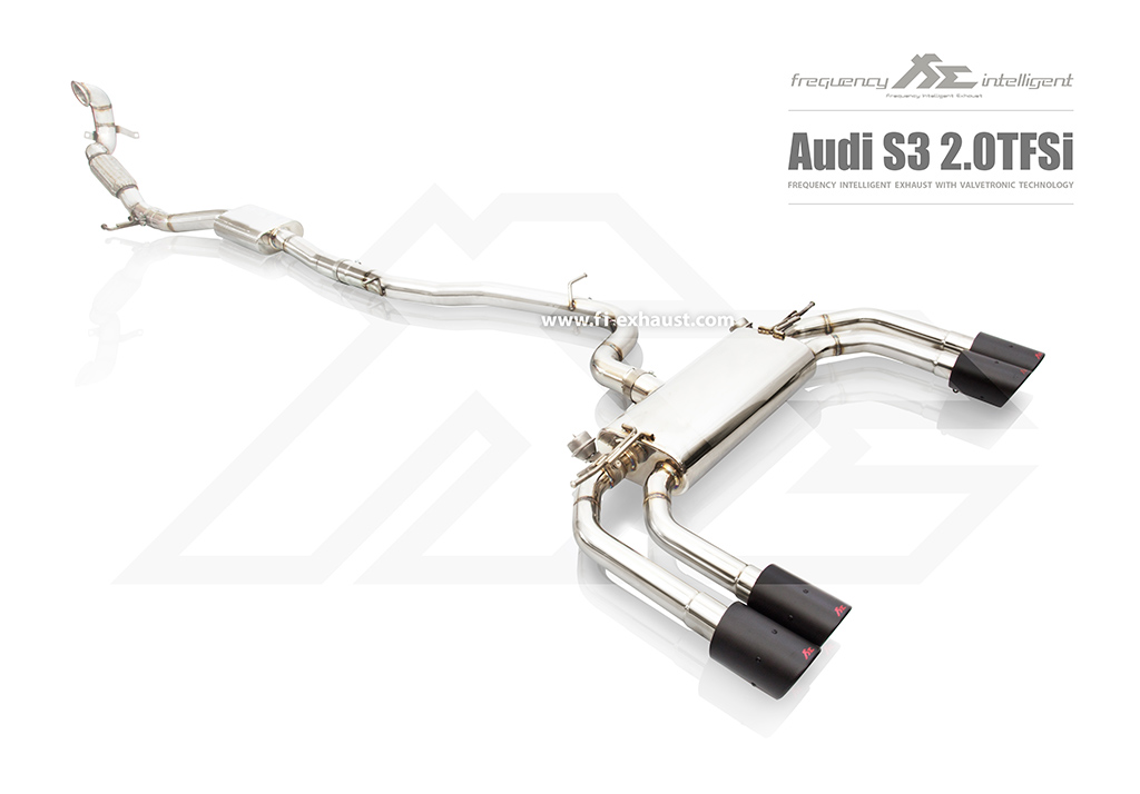 Fi Exhaust Audi S3 - DYNE Performance
